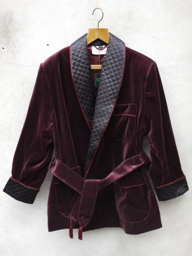 Smoking Jacket | eBay : mens quilted dressing gown - Adamdwight.com