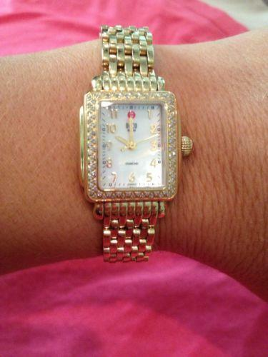 Michele Deco Diamond Watch Ebay