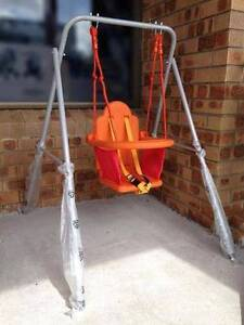 New Outdoor Indoor Child Toddler Baby Swing Seat Set with Stand Sydney City Inner Sydney Preview