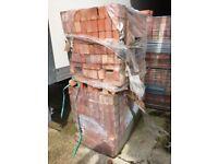 1500 4 PACKS OF UN-USED LONDON BRICK COMPANY LBC HEATHERS 65mm 33 24 BRICKS ORANGE