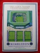Wimbledon Final Programme