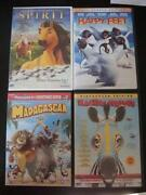 Madagascar DVD Lot