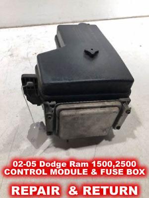 02-05 Dodge RAM 1500,2500,3500 Front Control Module & Fuse BOX - REPAIR (Module Front)