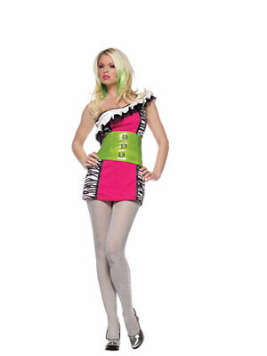 Womens Rockstar Costume (Wicked Rock Star Sexy Adult Halloween Costume)