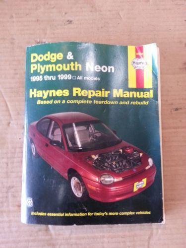 Dodge Neon Repair Manual