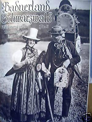 Badnerland Schwarzwald Neckar Oberrhein Bodensee 1929/3