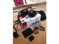 Boxed Sony NEX 5N Body+Flash+18mm Lens+Bag