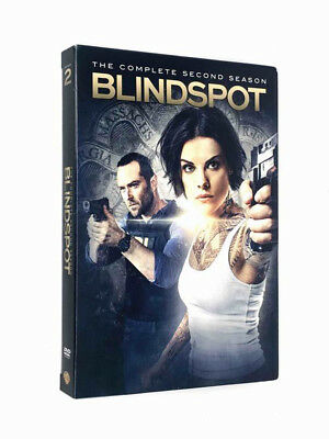 Blindspot: The Complete Second Season 2 (DVD 2017) 5 Disc Set FREE Shipping!