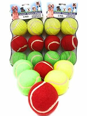 Interactive Dog Tennis Balls for Training - Exercise - Games of Throw and Fetch