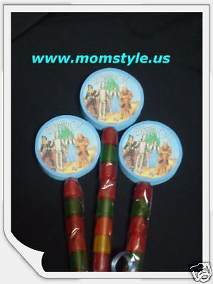 Wizard of Ozz  birthday party favor gummypops](Magician Party Favors)