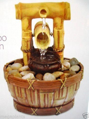 Bamboo Water Fountain Ebay