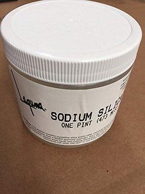 Laguna Sodium Silicate Liquid, 16 ounce Pint Jar