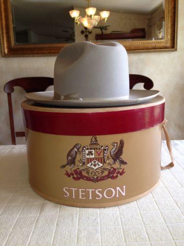 Vintage Stetson Hat Ebay