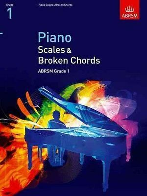 ABRSM Piano Scales & Broken Chords, Grade 1 - Same Day P+P