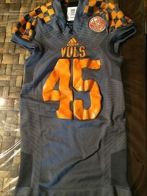 adidas TechFit Football Shockweb Jersey University of Tennessee Volunteers VOLS