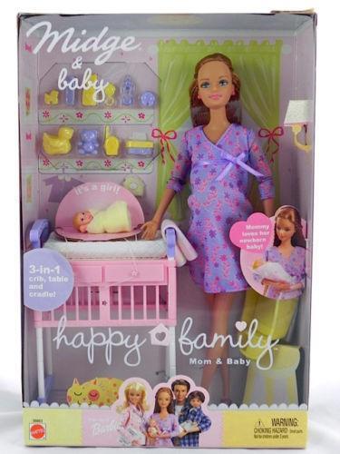 Barbie Happy Family Baby Ebay