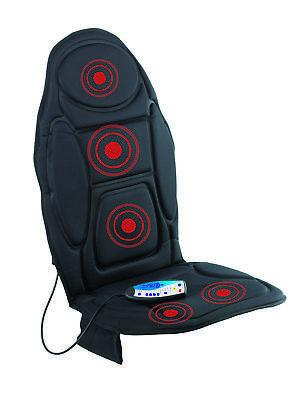 VITALmaxx Massagematte Vibrations Matte mit Wärmefunktion Massagesessel Auflage