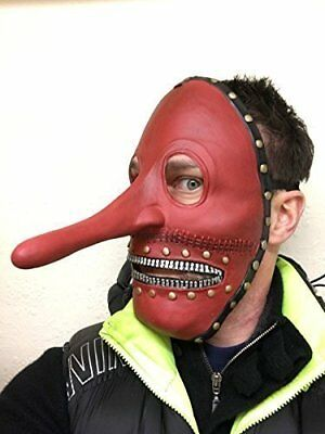 Slipknot Chris Mask (Chris Fehn Long Nose Slipknot Style Face Mask Heavy Metal Halloween)