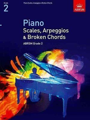 ABRSM Piano Scales, Arpeggios & Broken Chords, Grade 2 - Same Day P+P