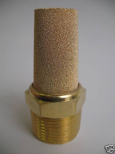 """1pc Pneumatic Muffler Silencer Sintered Bronze 3/8"""" NPT MettleAir BSL-N03"""