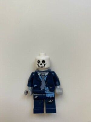 Lego Minifigure Series 14 Zombie Businessman with skeleton head and briefcase