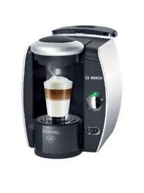 Bosch T40 COFFEE MAKER with Coffee & Cream Sachets