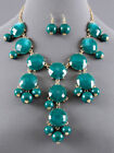 Bubble Green Statement Fashion Necklaces & Pendants