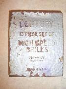 Vintage Drill Bits