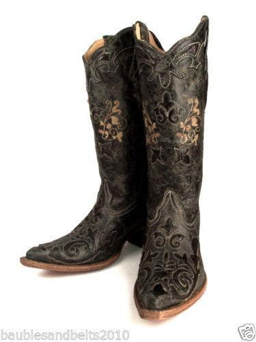 womens corral boots ebay