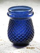 Cobalt Blue Candle Holders