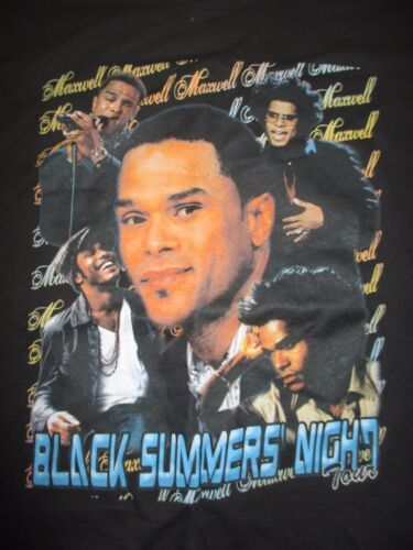"American Caribbean MAXWELL ""Black Summer Night"" Concert Tour (2XL) T-Shirt"