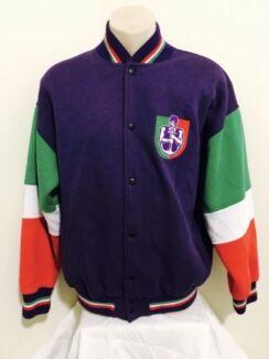 Large Fremantle Dockers Vintage 1990's AFL Football Jacket