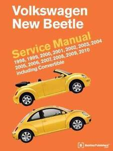 Volkswagen New Beetle 1998 - 2010 Service Manual Hazelbrook Blue Mountains Preview