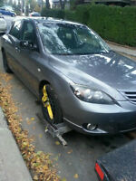PARTING OUT: 2004 MAZDA 3
