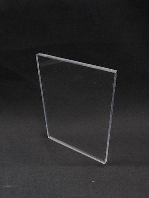 Sibe-r Plastics Supply - Clear Lexan Polycarbonate Sheet - 18 X 12 X 24