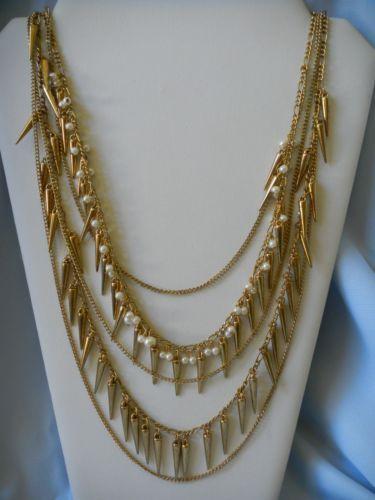 Vintage Faux Pearl Necklace Ebay