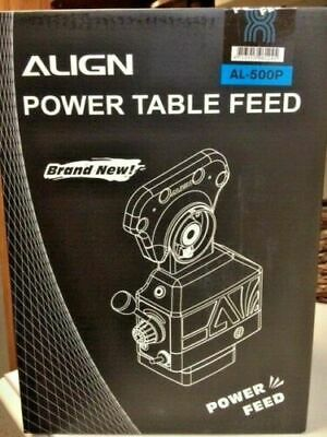 Align Brand Al-500p Y-axis Power Feed For Milling Machine Brand New.