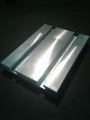 Sacrificial Aluminum T-slot Plate T-slotted Fixture Table - 6 X 8 X 1