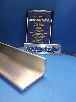 6061 T6 Aluminum Angle 3 X 5 X 6-long X 14 Thick