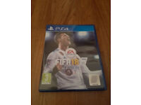 PS4 Fifa 18 in mint condition like new