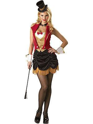 Incharacter Drei Ring Sexy Frauen Zirkus Löwe Dompteur Halloween (Löwe Frauen Kostüm)