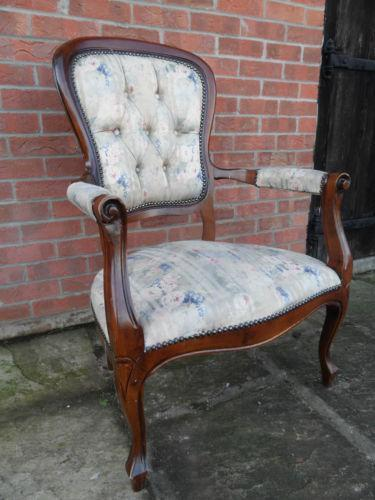 Vintage French Chair Ebay