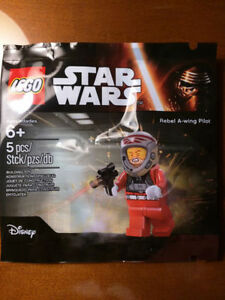 Star Wars Lego Rebel A-wing pilot in polybag Promo