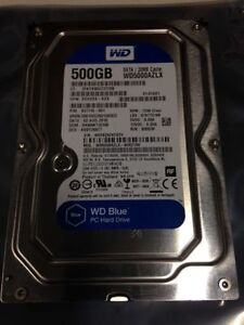 "Western Digital 500gb 3.5"" SATA Desktop Hard Drive"