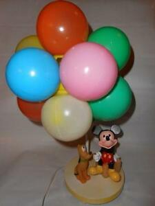 Vintage Mickey Mouse Lamp