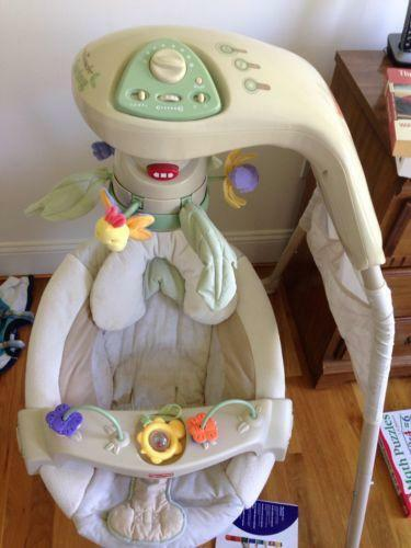 Fisher price natures touch cradle swing ebay for Baby swing motor replacement