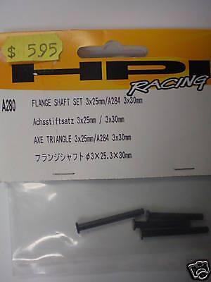HPI Flange Shaft Set 3x25mm/ A284 - Hpi Flange Shaft