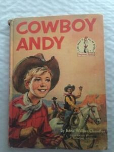 "VINTAGE BOOK: 1959 ""Cowboy Andy"" ""I Can Read It Myself"" book"