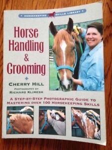 HORSE HANDLING & GROOMING & HORSE HEALTH CARE BOOK  CHERRY HILL