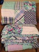 Pottery Barn Queen Quilt Shams